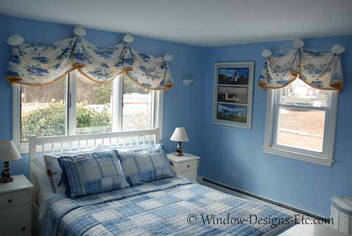 Cape Cod Bedroom Overview