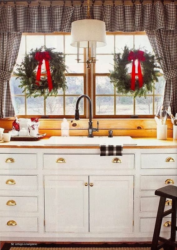 Christmas kitchen decorating ideas best home decoration House beautiful kitchen of the year 2013
