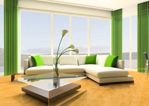 modern green home designs green decorating style