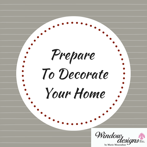 Prepare To Decorate Your Home In Six Super Simple Steps