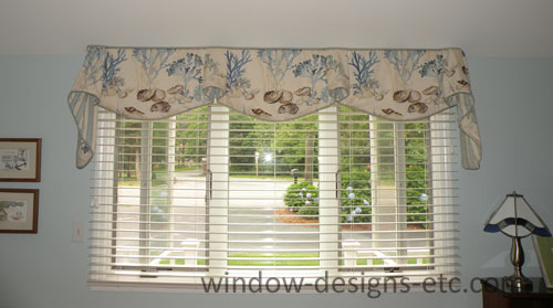 Beach Theme Valance. Cape Cod Dining Room. See More On Www.windowdesignsetc.