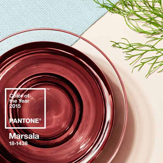 """Marsala Pantone 2015 Color of the year """"A natural robust and earthly wine red, Marsala enriches our minds, bodies and souls"""" - Pantone.com - Marie Mouradian WindowDesignsEtc.com - Marsala, Pantone 2015 Color of the Year"""