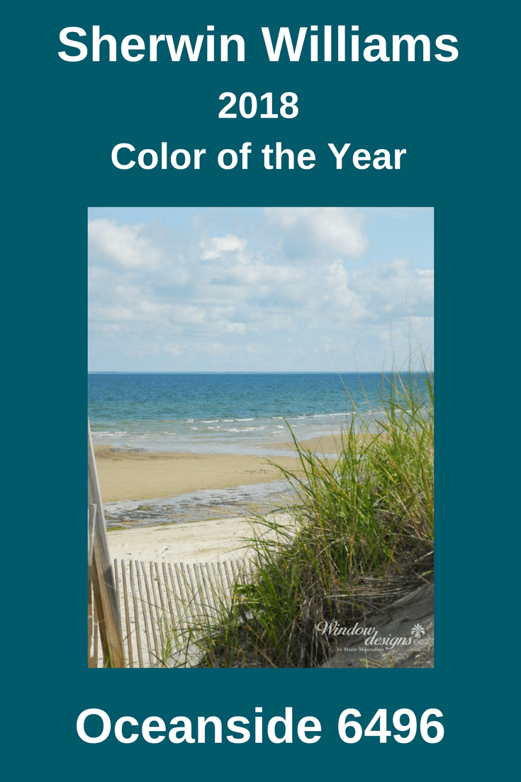 Sherwin williams oceanside 2018 color of the year for Sherwin williams color of the month october 2017